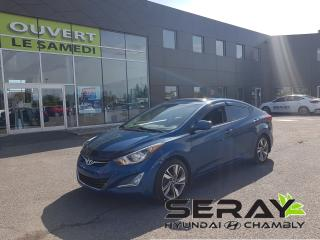 Used 2015 Hyundai Elantra GLS, mags, a/c. toit, bluetooth. for sale in Chambly, QC