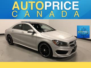 Used 2015 Mercedes-Benz CLA-Class SPORT PKG|NAVIGATION|PANROOF for sale in Mississauga, ON