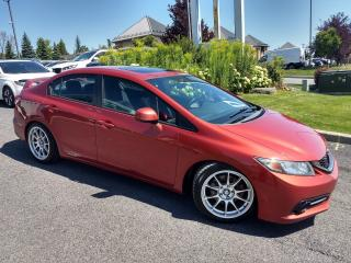 Used 2013 Honda Civic Si * TOIT * MAGS * DROP * BLUETOOTH for sale in Ste-Julie, QC