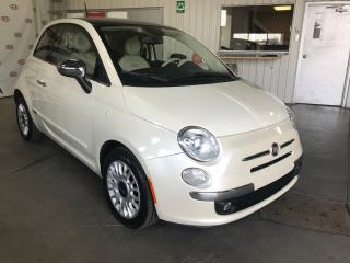 Used 2013 Fiat 500 Lounge * TOIT * CUIR * 8 PNEUS for sale in Ste-Julie, QC