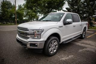 Used 2019 Ford F-150 Lariat FX4 Off-Road Package, Tough Bed Spray-In Bedliner, 20 inch Chrome Wheels, Tailgate Step with Tailgat for sale in Okotoks, AB