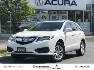 Used 2017 Acura RDX Tech at AWD, 3.5L V6 279HP, Navigation for sale in Markham, ON
