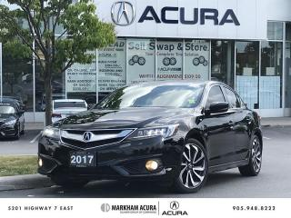 Used 2017 Acura ILX A-Spec 8DCT Navi, Backup Cam, Blind Spot Info for sale in Markham, ON