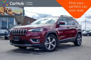 Used 2019 Jeep Cherokee Limited|Bluetooth|Backup Cam|Leather|Heated Front Seats|R-Start|18