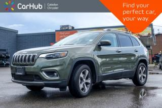 Used 2019 Jeep Cherokee Limited|4x4|Navi|Bluetooth|Blind Spot|Backup Cam|Leather|Heated Front Seats|R-Start|18