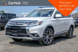 Used 2016 Mitsubishi Outlander ES|Media Player|Bluetooth|Back up cam|Heated Driver and Passenger seats|4WD for sale in Bolton, ON