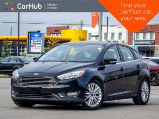 Used 2016 Ford Focus Titanium Navigation Sunroof Backup Camera Heated Front Seats Remote Start 17