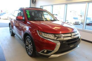 Used 2016 Mitsubishi Outlander GT AWC TOIT CUIR CAMÉRA for sale in Lévis, QC