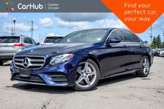 Used 2017 Mercedes-Benz E-Class E 400|4Matic|Navi|Pano Sunroof|Backup Cam|Bluetooth|Blind Spot|Leather|18