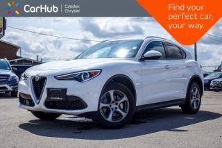 Used 2018 Alfa Romeo Stelvio AWD|Only 3758KM|Navi|Backup Cam|Bluetooth|Leather|Blind Spot|R-Sta|Heated Seat|18