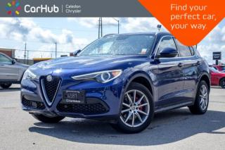 Used 2018 Alfa Romeo Stelvio Ti Sport AWD|Navi|Backup Cam|Bluetooth|R-Start|Leather|19