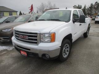 Used 2013 GMC Sierra 1500 WORK READY SLE MODEL 6 PASSENGER 4.8L - VORTEC.. TWO-WHEEL DRIVE.. CREW CAB.. SHORTY.. POWER PEDALS.. TOW SUPPORT.. KEYLESS ENTRY.. for sale in Bradford, ON