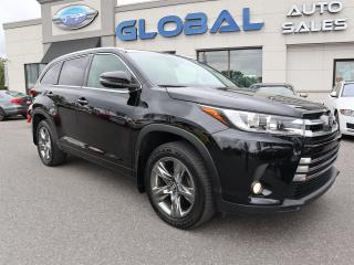 Used 2017 Toyota Highlander Limited Platinum AWD V6 NAV. PANOR ROOF . 360 CAMERA. for sale in Ottawa, ON