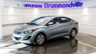 Used 2016 Hyundai Elantra GL + GARANTIE + A/C + BLUETOOTH + CRUISE for sale in Drummondville, QC