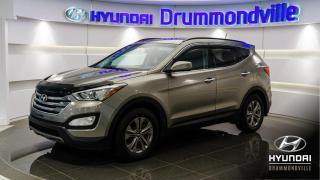 Used 2016 Hyundai Santa Fe Sport PREMIUM AWD +  MAGS + VOLANT CHAUFFANT ! for sale in Drummondville, QC