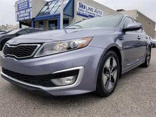 Used 2012 Kia Optima Hybrid Premium 1 OWNER|PANORAMIC ROOF|NAVIGATION|HEATED AND COOL SEATS|REAR HEATED SEATS|BACKUP CAMERA|ALLOYS| for sale in Concord, ON