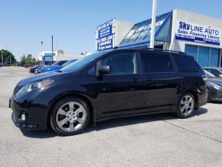 Used 2011 Toyota Sienna SE 8 Passenger BACK CAM|7 PASSENGER|LEATHER|SUNROOF|ALLOYS|CERTIFIED for sale in Concord, ON