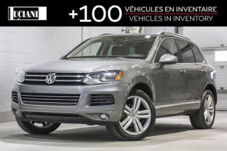 Used 2014 Volkswagen Touareg 2014 Volkswagen Touareg - 4dr TDI Execline for sale in Montréal, QC