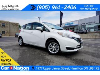 Used 2018 Nissan Versa Note 1.6 SV | REAR CAM | XM RADIO | HEATED SEATS for sale in Hamilton, ON