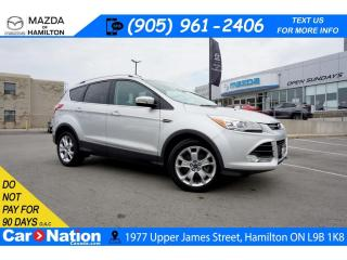Used 2014 Ford Escape Titanium TITANIUM | LEATHER | NAV | PANO | HEATED SEATS for sale in Hamilton, ON