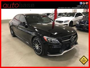 Used 2016 Mercedes-Benz C-Class C450 AMG 4MATIC DISTRONIC PREMIUM AMG STEERING WHL 19'S for sale in Vaughan, ON