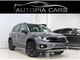 Used 2015 Volkswagen Tiguan COMFORTLINE BACKUP CAMERA PANORAMIC SUNROOF ALLOY for sale in North York, ON