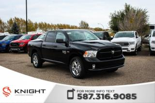Used 2019 RAM 1500 Classic Express Crew Cab | Heated Seats and Steering Wheel | Remote Start for sale in Medicine Hat, AB