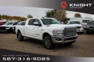 New 2019 RAM 3500 Laramie Longhorn Mega Cab | Sunroof | Navigation | 12
