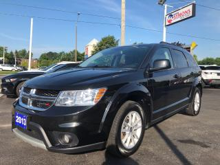 Used 2013 Dodge Journey SXT for sale in Cobourg, ON