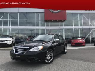Used 2013 Chrysler 200 LIMITED - CUIR- BLUETOOTH - TOIT OUVRANT - for sale in Donnacona, QC