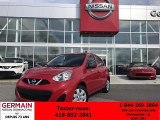 Used 2015 Nissan Micra S AUTO *** TAUX À PARTIR DE 0.99%*** for sale in Donnacona, QC