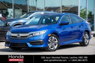 Used 2016 Honda Civic LX AUTO BAS KM AUTO AC CRUISE BLUETOOTH for sale in Lachine, QC