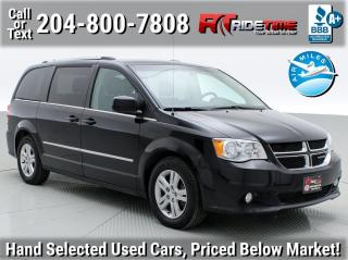 Used 2015 Dodge Grand Caravan Crew Plus for sale in Winnipeg, MB