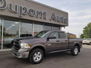Used 2017 RAM 1500 Cabine quad 4RM, 140,5po Outdoorsman for sale in Alma, QC