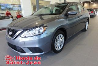 Used 2019 Nissan Sentra SV CVT A/C for sale in St-Jean-Sur-Richelieu, QC
