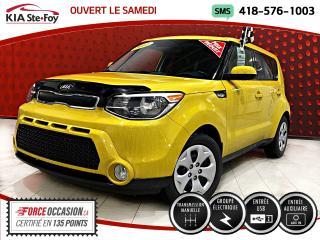 Used 2014 Kia Soul LX MANUEL *AUX *USB *CERTIFIÉ for sale in Québec, QC