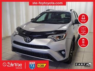 Used 2017 Toyota RAV4 SE AWD Cuir, Navigation for sale in Québec, QC
