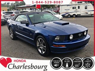 Used 2008 Ford Mustang CABRIOLET GT *V8*BAS KM** for sale in Charlesbourg, QC
