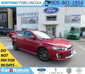 Used 2016 Mitsubishi Lancer SE LTD | HTD SEATS | 5 SPEED | SUNROOF | B/U CAM | for sale in Brantford, ON