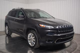Used 2014 Jeep Cherokee LIMITED AWD V6 CUIR MAGS for sale in St-Hubert, QC