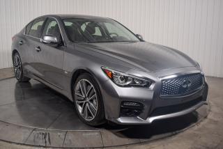 Used 2016 Infiniti Q50 SPORT AWD 3.0T CUIR MAGS TOIT NAV for sale in St-Hubert, QC