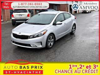 Used 2018 Kia Forte EX for sale in St-Hyacinthe, QC