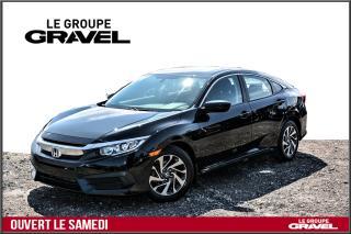 Used 2016 Honda Civic EX - Toit ouvrant - Mags - Caméra de recul - for sale in Ile-des-Soeurs, QC