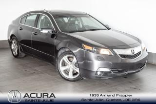 Used 2014 Acura TL w/Tech Pkg for sale in Ste-Julie, QC
