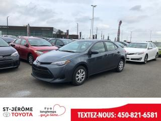 Used 2017 Toyota Corolla * 43 000 KM * VITRES ET PORTES ÉLEC * for sale in Mirabel, QC