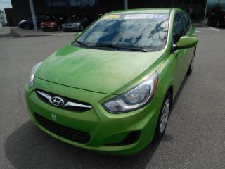 Used 2014 Hyundai Accent GL, A/C, BANC CHAUFFANT, VITRE ÉLECT, BLUETOOTH for sale in Mirabel, QC