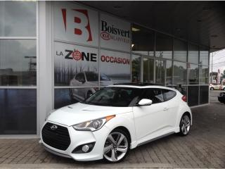 Used 2014 Hyundai Veloster 2014 Hyundai Veloster TURBO CUIR GPS FULLLLLLLL for sale in Blainville, QC