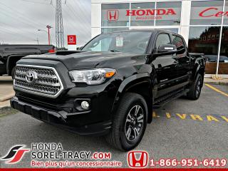 Used 2017 Toyota Tacoma TRD Sport Double Cab V6 4RM BA for sale in Sorel-Tracy, QC