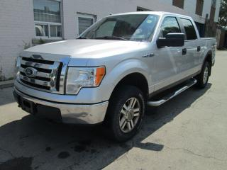 Used 2010 Ford F-150 4X4 XLT Supercrew| 185kms only| Drives great! for sale in Toronto, ON