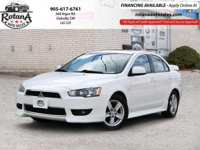 2014 Mitsubishi Lancer Accident Free | Sunroof | Bluetooth |